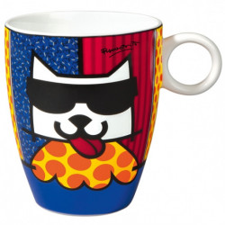 "Mug ""LA Cat"" - Romero Britto"
