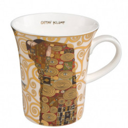 "Mug ""L'Accomplissement"" en porcelaine - Klimt"