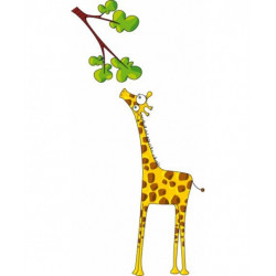 "Sticker ""Madame la girafe""..."