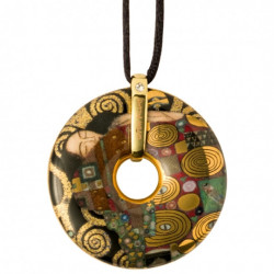 "Collier Amulette ""l'Accomplissement"" - Klimt"