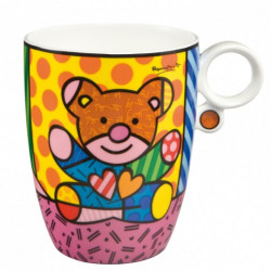"Mug ""Truly Yours"" en porcelaine - Romero Britto"