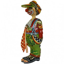"Figurine Clown ""Ugo"" en résine - Tom's Drag (25cm)"