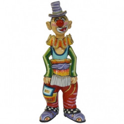 "Figurine Clown ""Udino"" en résine - Tom's Drag (26cm)"