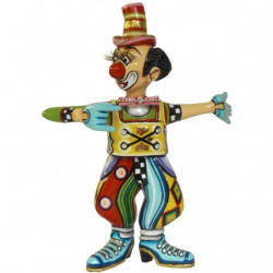 "Figurine clown ""Max"" en résine - Tom's Drag (27cm)"