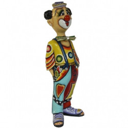 "Figurine Clown ""Moretti"" en résine - Tom's Drag (24cm)"