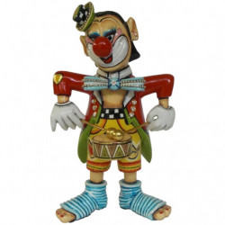 "Figurine Clown ""Arturo"" en résine - Tom's Drag (25cm)"
