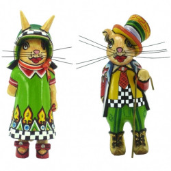 Couple de Lapins Little Willy & Little Erica - Tom's Drag (10-9cm)